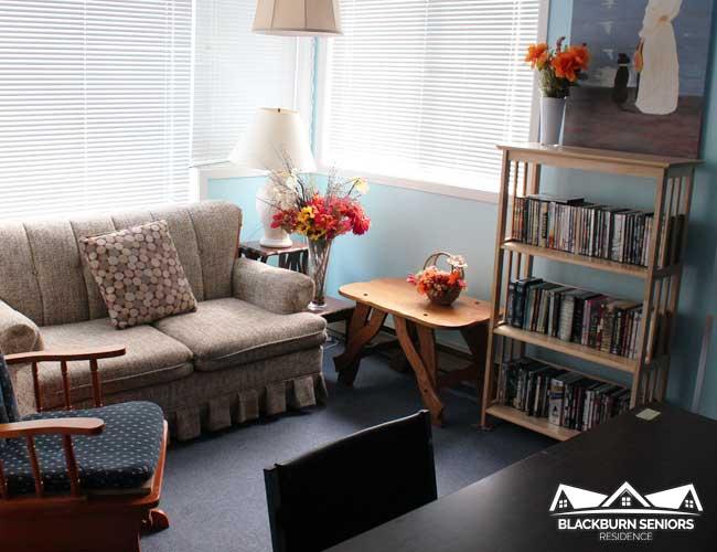 Blackburn Retirement Home Ottawa Activity Room